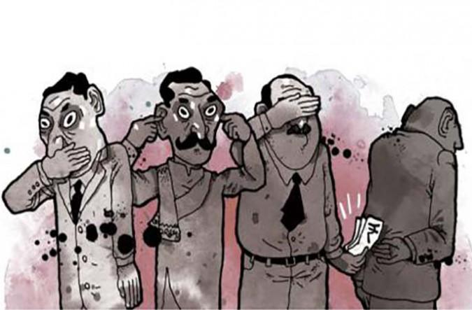 A korrupció észleléséről